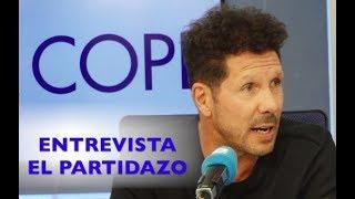 Entrevista al Cholo Simeone por Juanma Castaño en El Partidazo de COPE