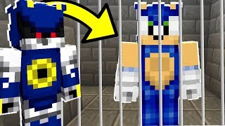 Minecraft Sonic The Hedgehog - Sonic Goes To Jail! [22]