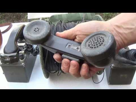 Testing Military Field Phones for Off-Grid Communications - Prepping 101