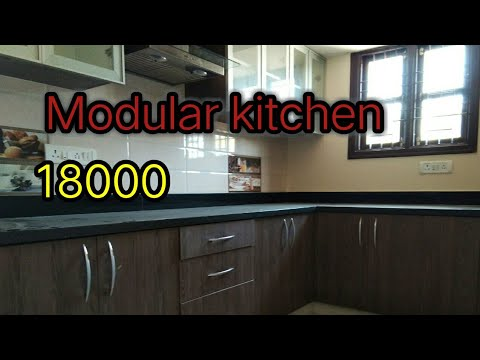 Low Cost Modular Kitchen Design In India Youtube
