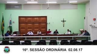 Sessão da Câmara  02.08.17