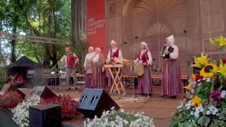 """00019 Folkloras diena """"Novadu sasaukšanās"""" uz Vērmanes dārza lielās skatuves 7.07.2018"""