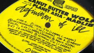 Peanut Butter Wolf The Definition Of Ill Ft Madlib And Planet Asia