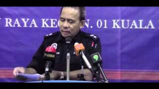 #PRKBESUT13 #PRKN1 : POLIS PUTUS KAKI TERLIBAT KEMALANGAN