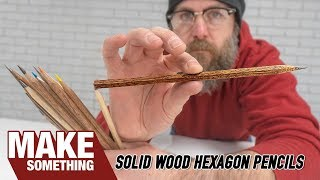 Introducing a New Way to Make Pencils // Woodworking Project