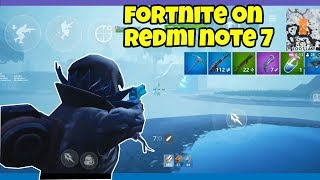 Fortnite on Redmi Note 7 (Root)
