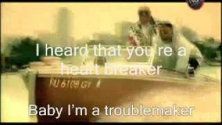 Akon Ft. Sweet Rush - Troublemaker video clip + lyrics