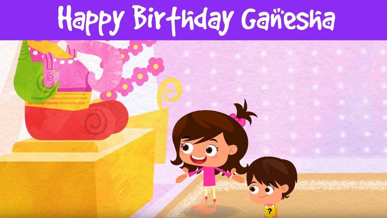Happy Birthday Ganesha Lord Ganesha Story Moral Stories For Kids