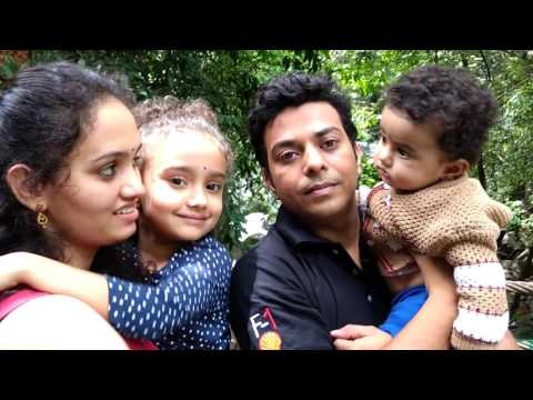 Ram and family at Vythiri resort in 4K