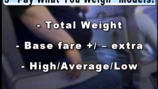 Airlines urged to charge overweight passengers