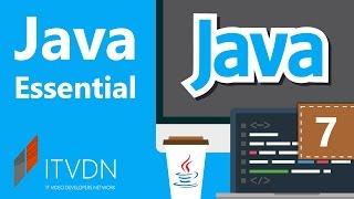 Видео курс Java Essential. Урок 7. Анонимные классы и перечислительные типы.