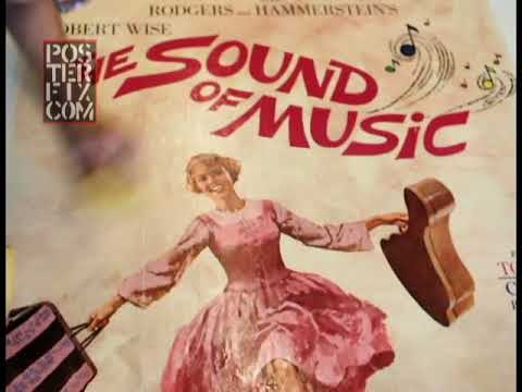 The Sound of Music - US 3 sheet Poster
