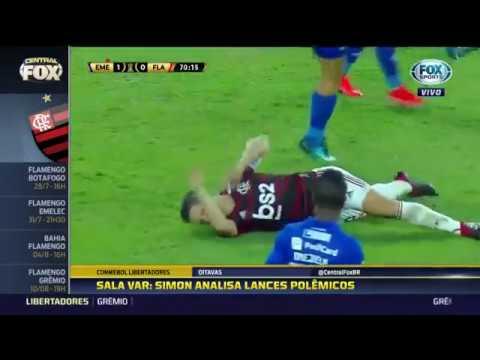 Polêmicas De Emelec 2 X 0 Flamengo 24/07/2019 Libertadores