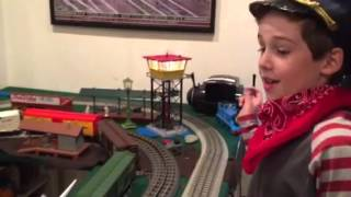 Ben's November 2015 Trains and Village