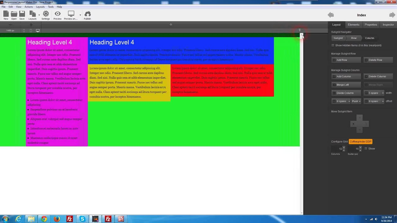 Classroom Design Generator Free Download ~ Responsive layout generator free image gallery