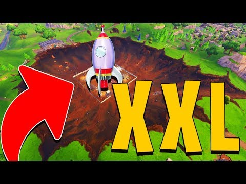 FAIRE UNE FUSEE XXL SUR FORTNITE BATTLE ROYALE !!!