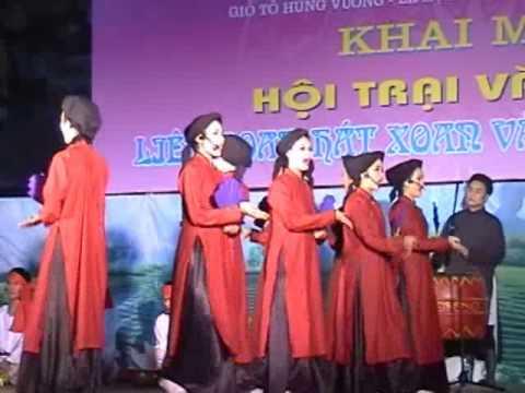 Liên hoan hát Xoan và dân ca Phú Thọ 2012