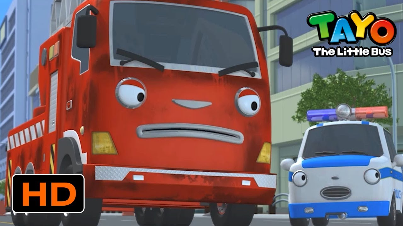 Tayo English Episodes l Emergency Dispatch! Frank takes the mission! l Tayo the Little Bus