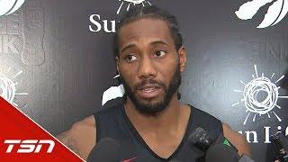 Kawhi speaks on the eve of the Raptors' most anticipated season ever