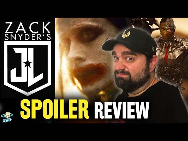 Zack Snyder's Justice League - SPOILER Review! Joker! Mera?!? & Was 2017 Joss Whedon's Fault!?