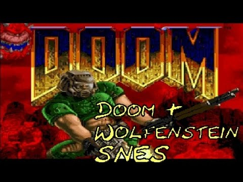 WOW! THESE GAMES!!! [Doom and Wolfenstein 3D SNES] |