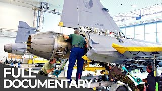 Fighter Jet: War Machine Heavy Maintenance | Mega Pit Stops | Episode 3 | Free Documentary