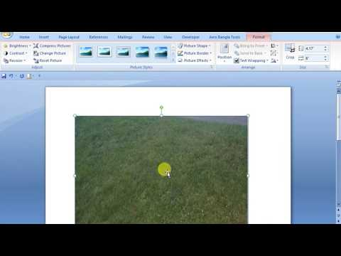 How To Move Picture In Microsoft Word