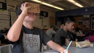 Google helps students take virtual reality field trips