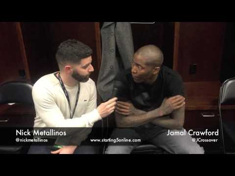 L.A. Clippers' Jamal Crawford talks Brand Black and J. Crossover II