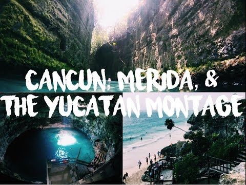 Cancun, Merida, & The Yucatan, Mexico Montage