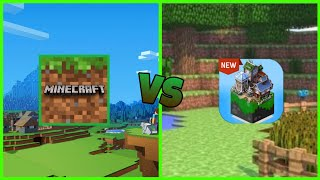 Minecraft VS Master Craft