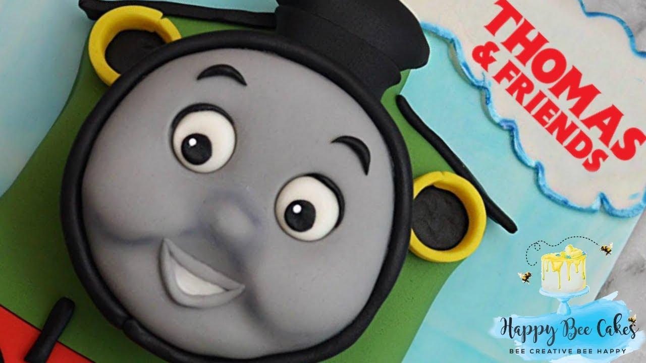 Train Cake Tutorial Train Cake Decorating Percy Thomas Youtube