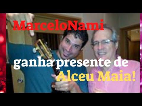 Marcelo Nami ganha presente de Alceu Maia!
