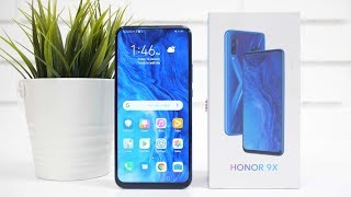 Honor 9x Smartphone Unboxing & Overview
