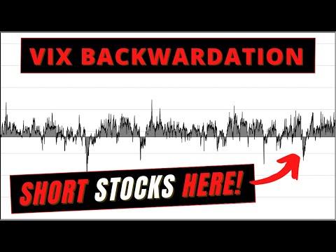 Video #169)  What is VIX Futures Backwardation?  Volatility Lingo Ep.2