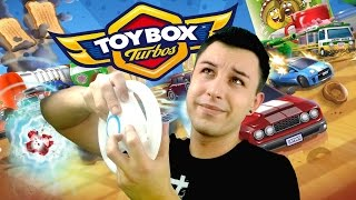 MICRO MACHINES LE RETOUR ! (Toybox Turbos)