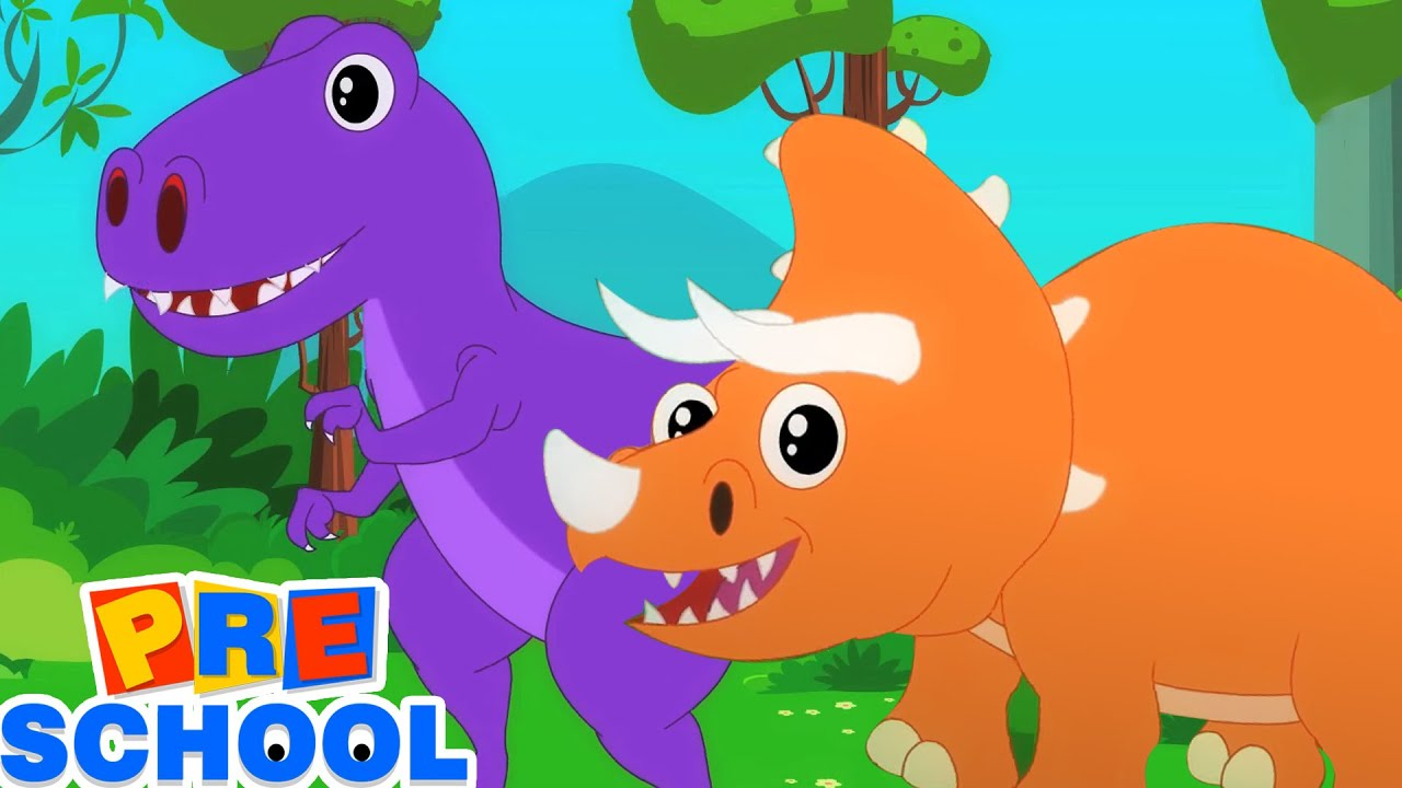 The Dino Song | Dinosaurs Song For Kids | Nursery Rhymes & Baby Songs | Cartoon Videos For Kids