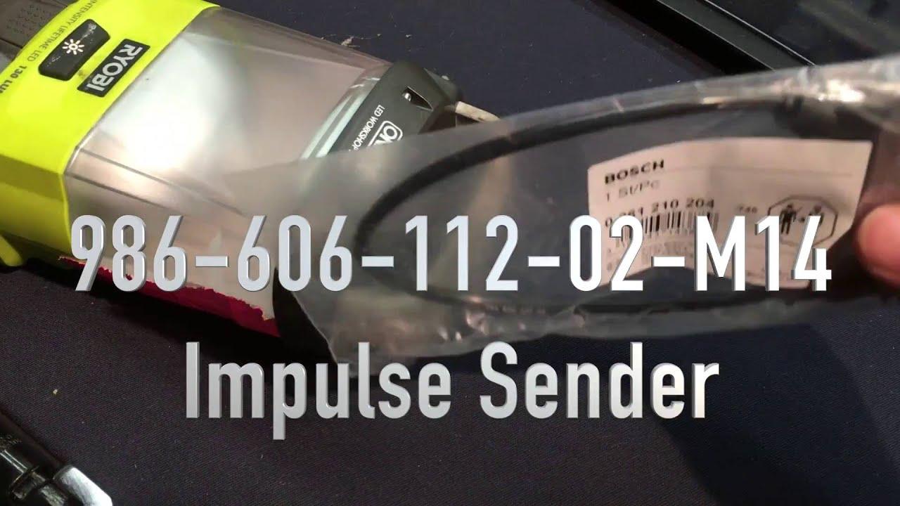 Porsche Crank Position Sensor - Will it Start??