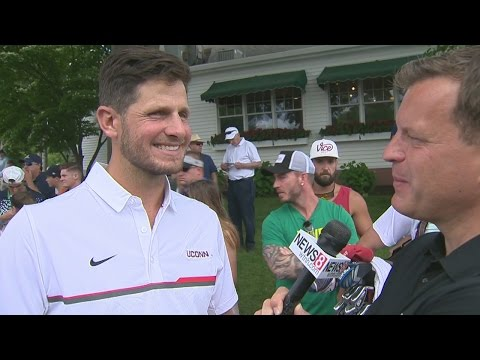 Dan Orlovsky was ready to dominate Coach Randy Edsall at Travelers Pro-Am