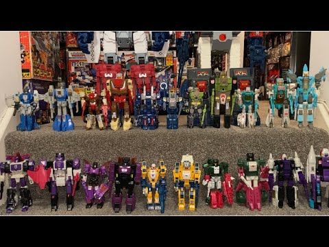 Transformers Headmasters G1 Vintage, Titan masters, Seige & Earthrise Horrorcons by Toy Are Russ