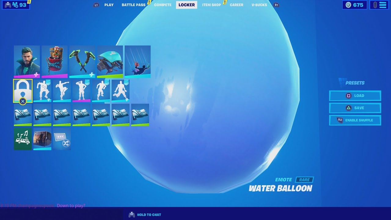 The WATER BALLOON Was Just LOCKED In Fortnite!