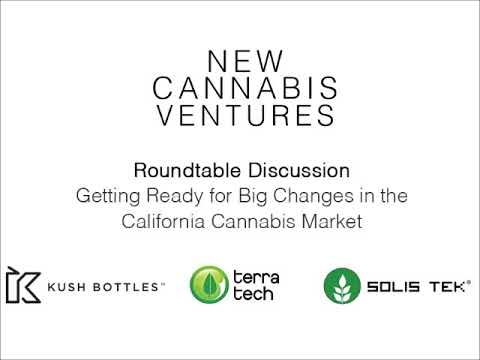 New Cannabis Ventures California Roundtable