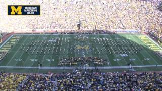 """I Love NY"" - October 10, 2015 - The Michigan Marching Band"