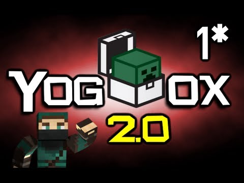 Minecraft Yogbox 2.0 Let's Play! Ep 1 (New Beginnings)