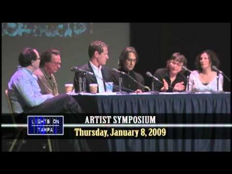 Lights On Tampa Artists Symposium