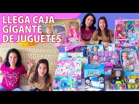 LLEGÓ UNA CAJA GIGANTE DE JUGUETES | AnaNana Toys