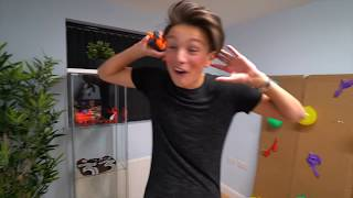 MOST DANGEROUS TOY OF ALL TIME!! *BLOOD WARNING* (EXTREME 1000 DEGREE FLAMING NERF DARTS!!)