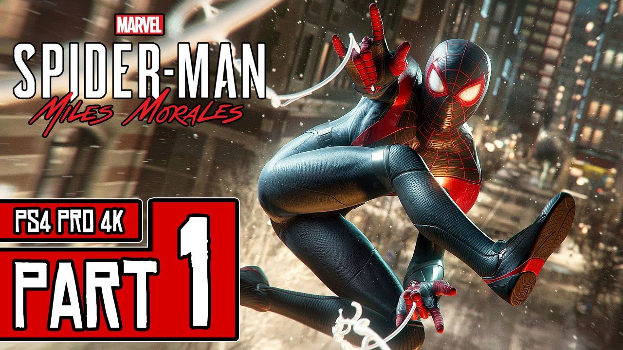 SPIDER-MAN: Miles Morales Walkthrough PART 1 (4K) Full Game Gameplay No Commentary