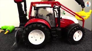 Tractors for children - Big trucks - Robocar Poli  Toys - Cars for kids