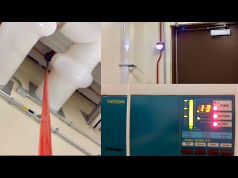 VESDA Air Sampling System Test/Demo
